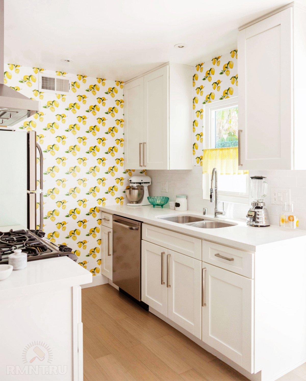7 мифов об обоях для кухни