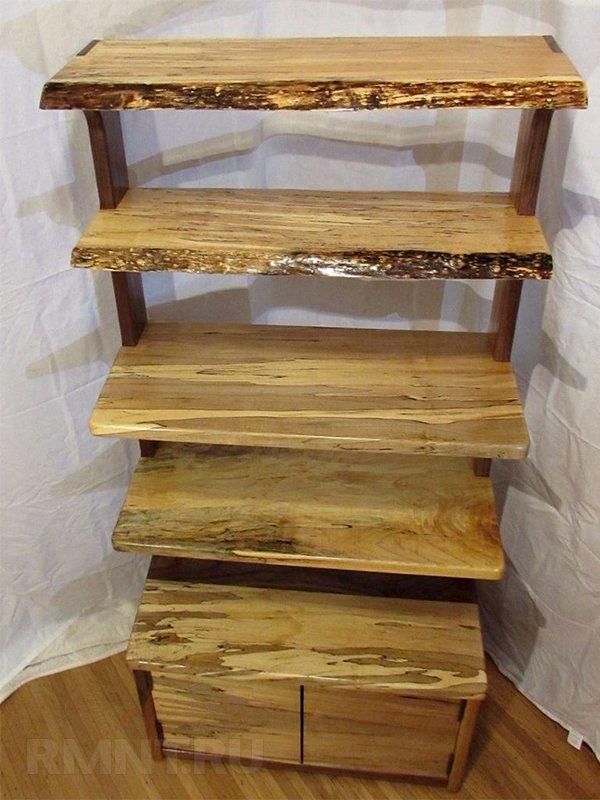 Как сделать этажерку из дерева