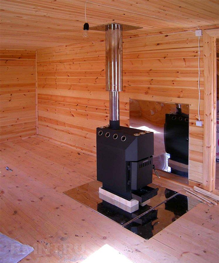 Печь Будакова в деревянном доме