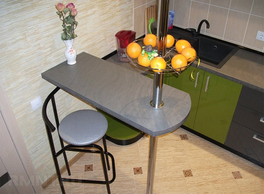 Барный стол для маленькой кухни своими руками