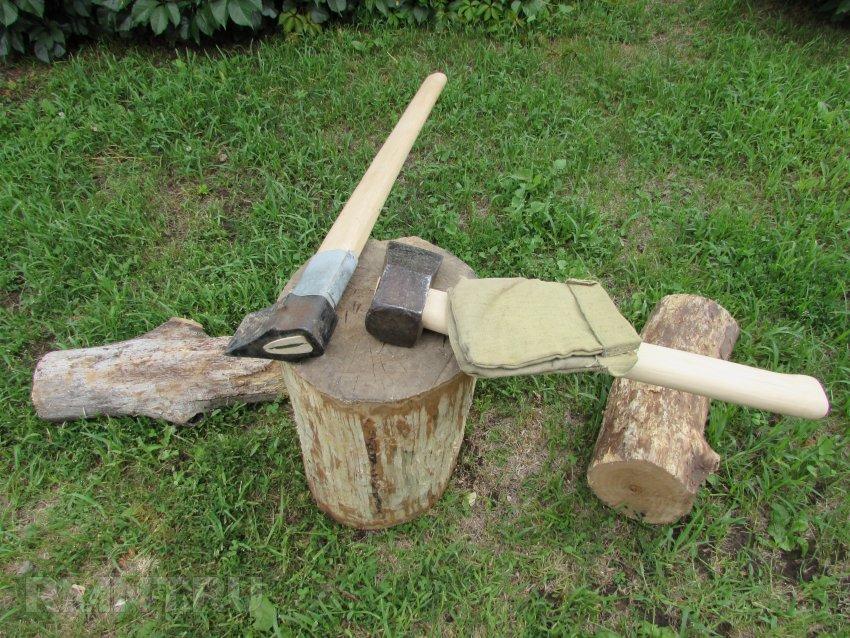 Как правильно наколоть дрова