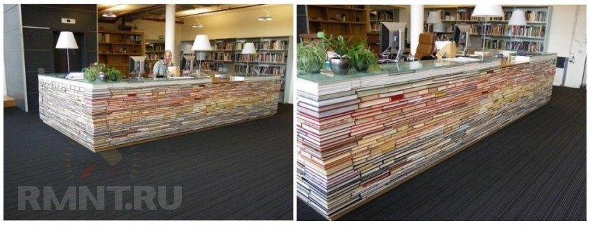 Оригинальные идеи использования старых книг