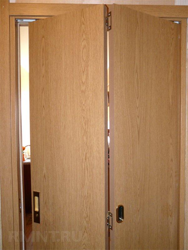 Складывающиеся двери своими руками