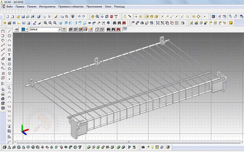Программа для создания эскизов мебели