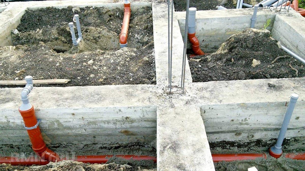 Частный дом канализация своими руками из покрышки фото 595