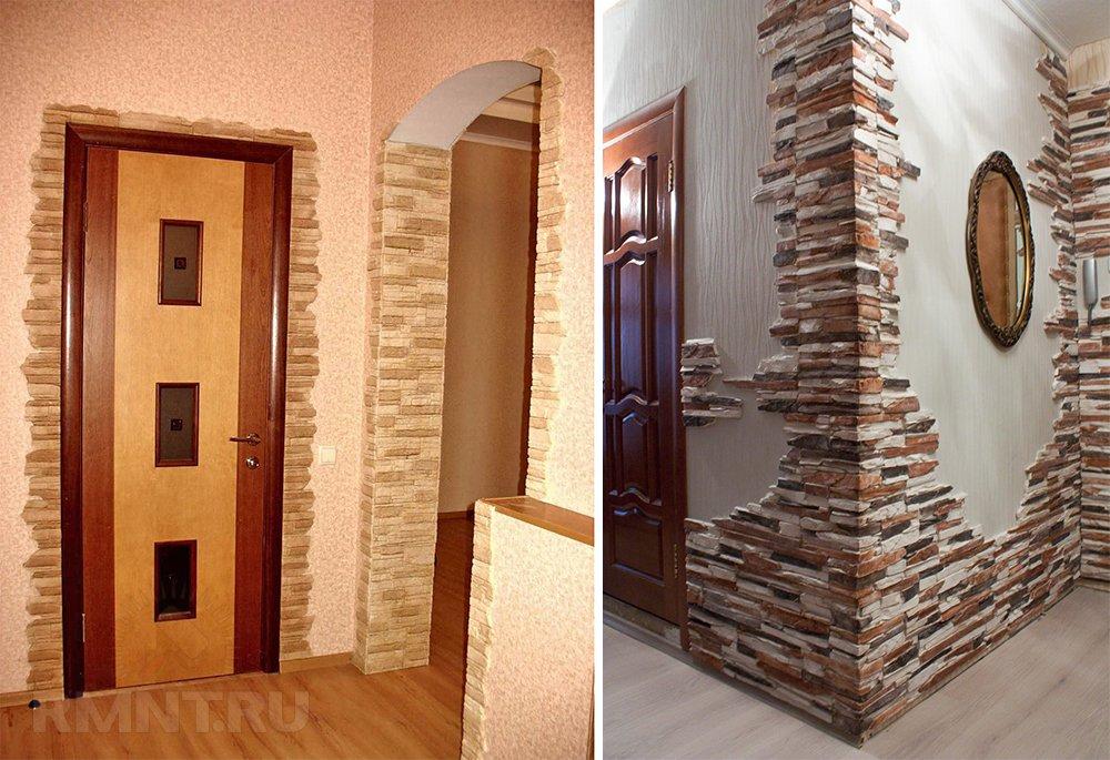 поздравление оформить портал двери декоративным камнем фото можно приступать