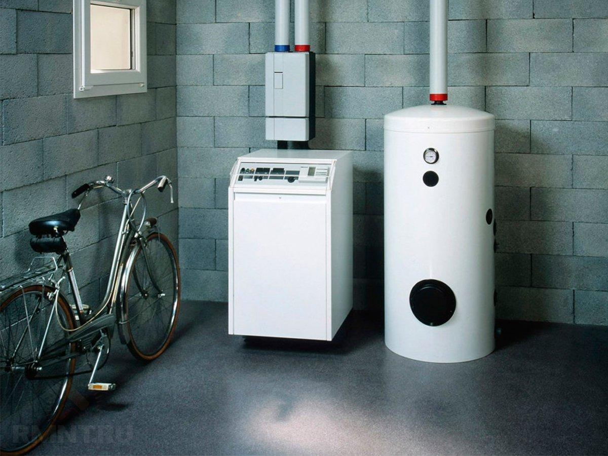расширительный бак в лучевую систему отопления схема