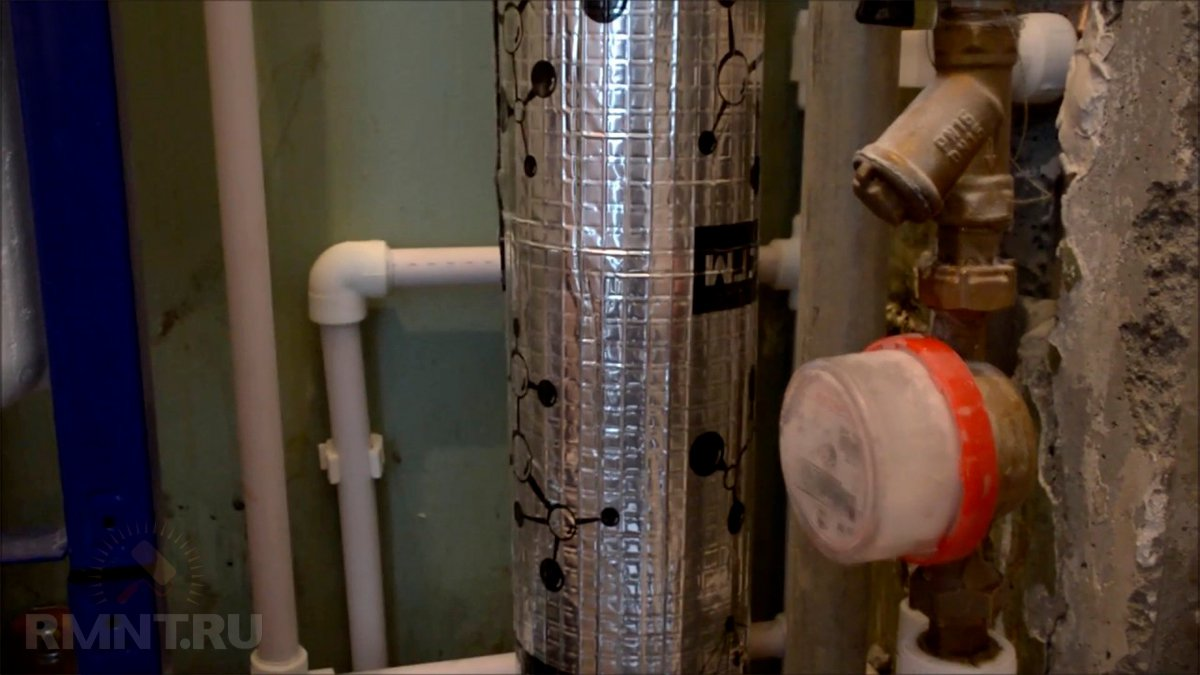 Шумоизоляция стояка канализации в квартире и доме