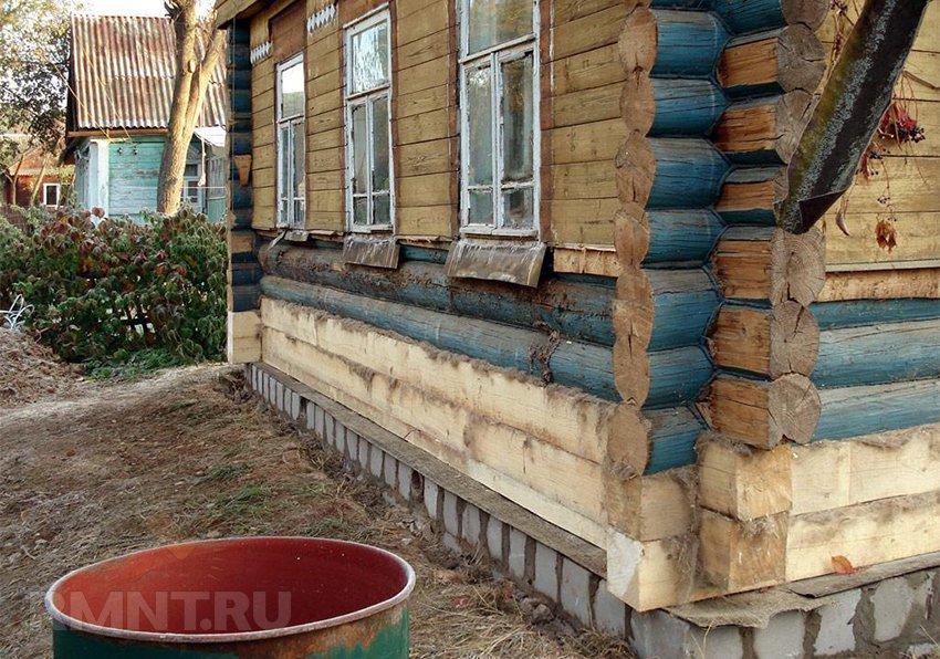 реставрация деревенского дома своими руками фото строительства