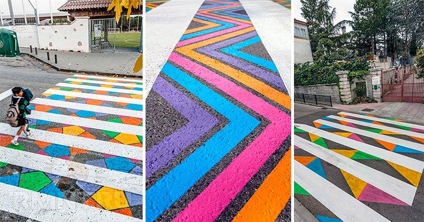 удивительное искусство на городских улицах