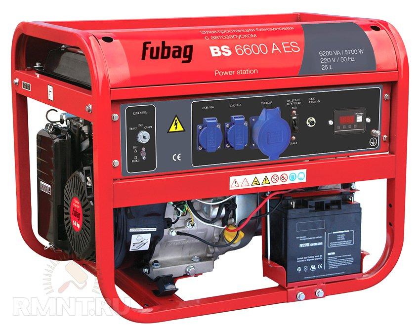 FUBAG BS 6600 А ES