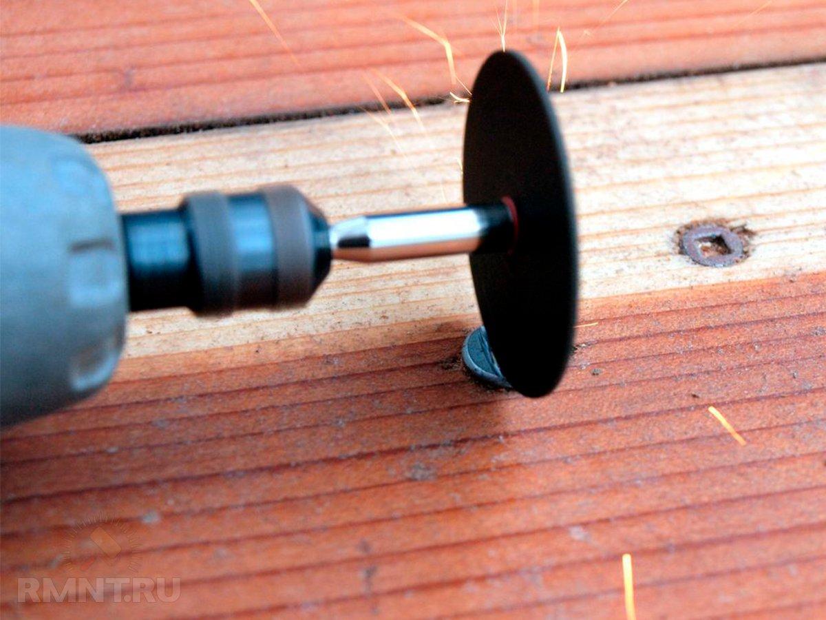 Как выкрутить саморез или шуруп с повреждённой шляпкой