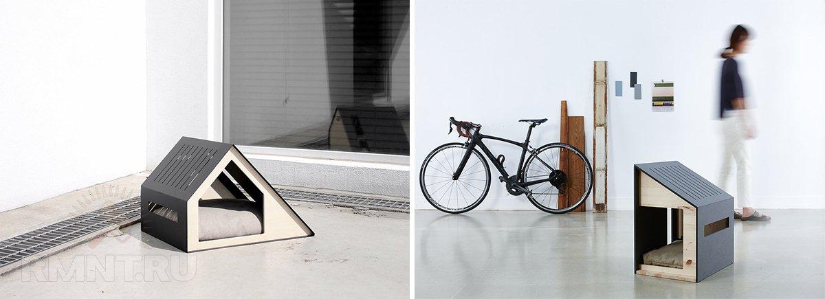 Домик для собаки в минималистичном стиле от Bad Marlon