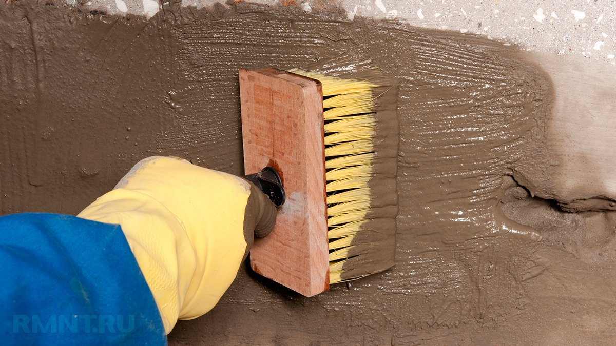 Гидроизоляция стен подвала изнутри