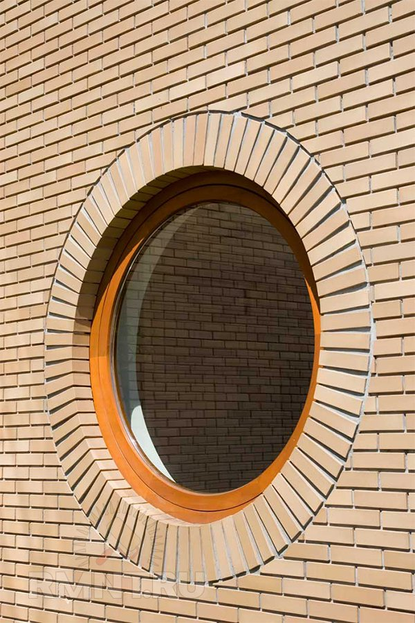 Круглое цветное окно ПВХ