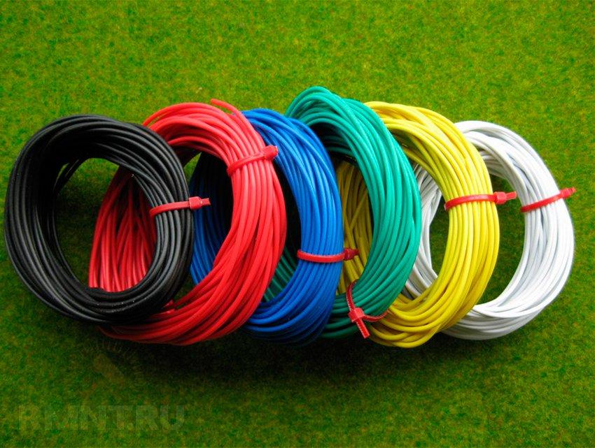 Монтажные провода для подключения светодиодной ленты