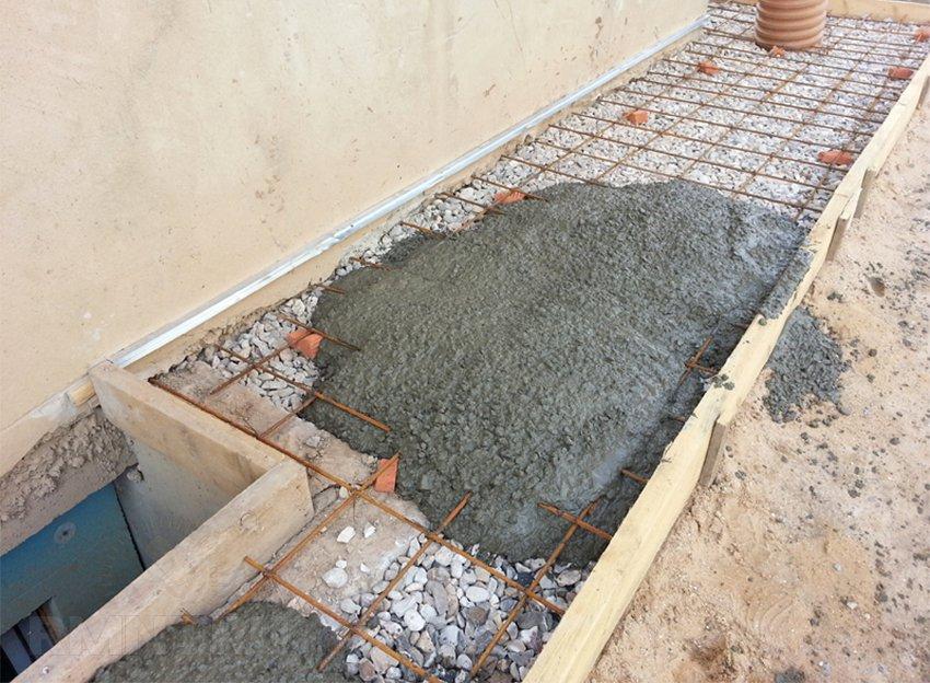 Как сделать бетон своими руками для отмостки 28