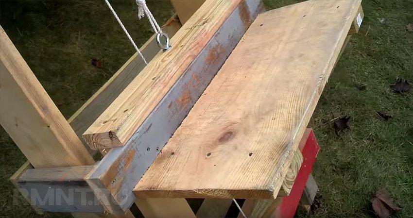 Как поднять на крышу груз. Строительный подъемник своими руками