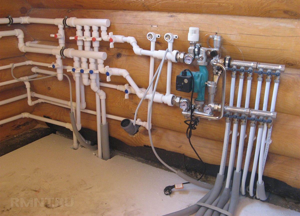 Отопление в гараже из полипропиленовых труб своими руками 96