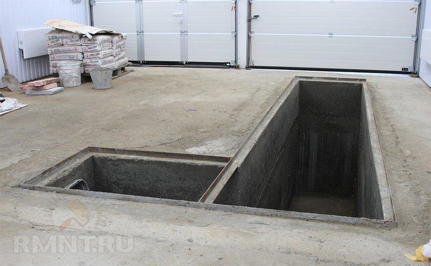 Куплю решетку для ямы в гараже готовый проект домов с гаражом