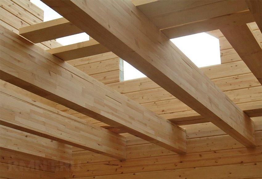 Как выполнить расчет деревянных балок перекрытия вручную
