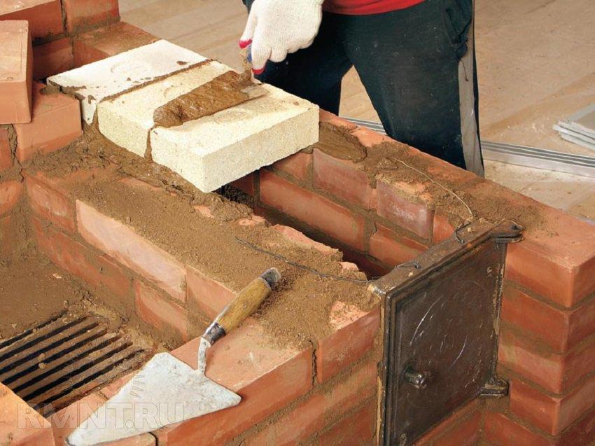 Печь и камин для дома на дровах своими руками