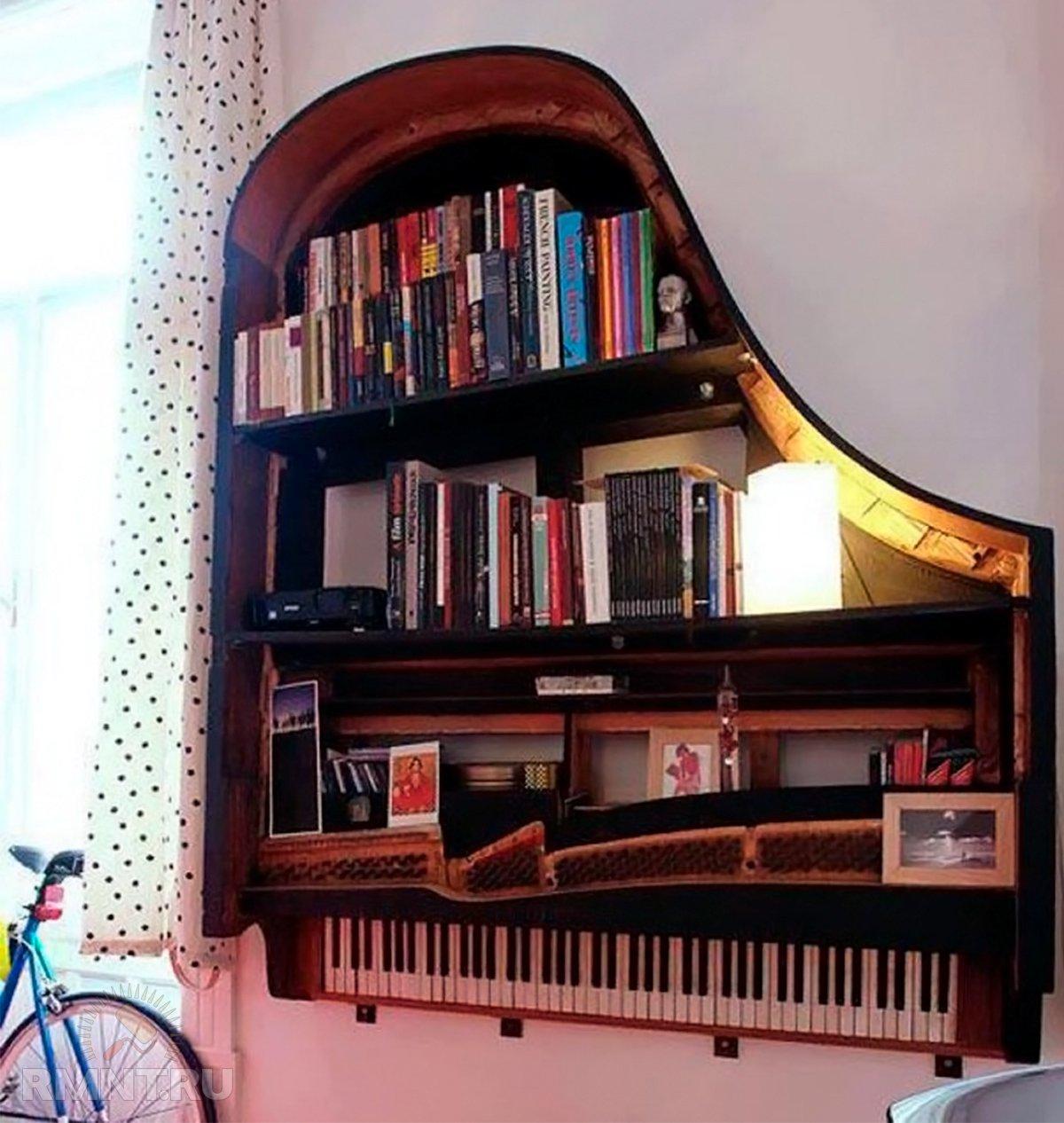 Вторая жизнь старых вещей: лестница, грабли, велосипед и музыкальные инструменты