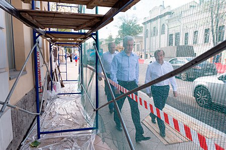 Собянин рассказал о планах властей по благоустройству столичных улиц