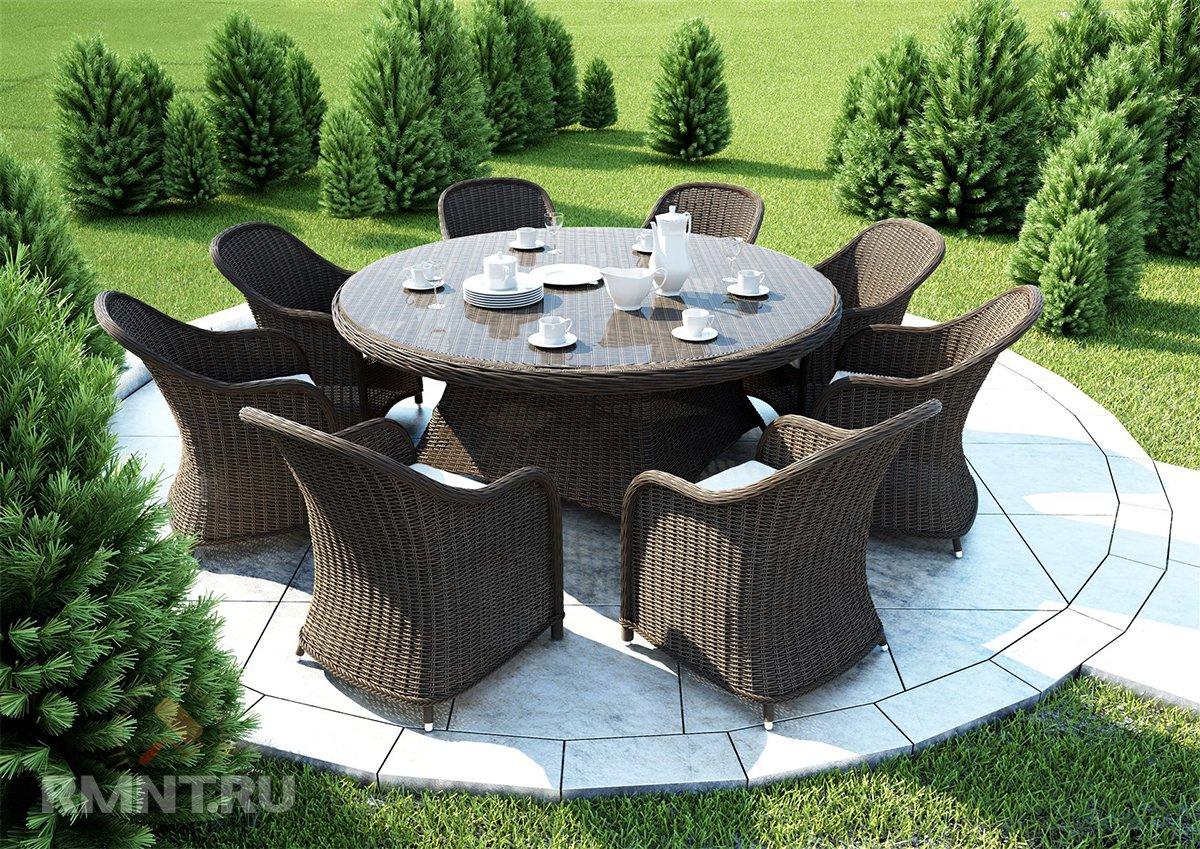 Необыкновенная садовая мебель