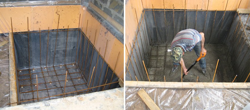 Бани из бетона своими руками 285