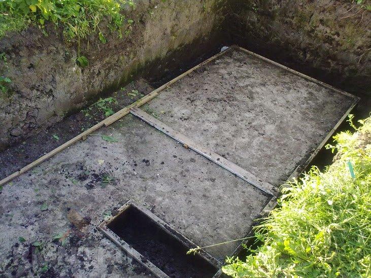 Бетонный погреб своими руками на даче