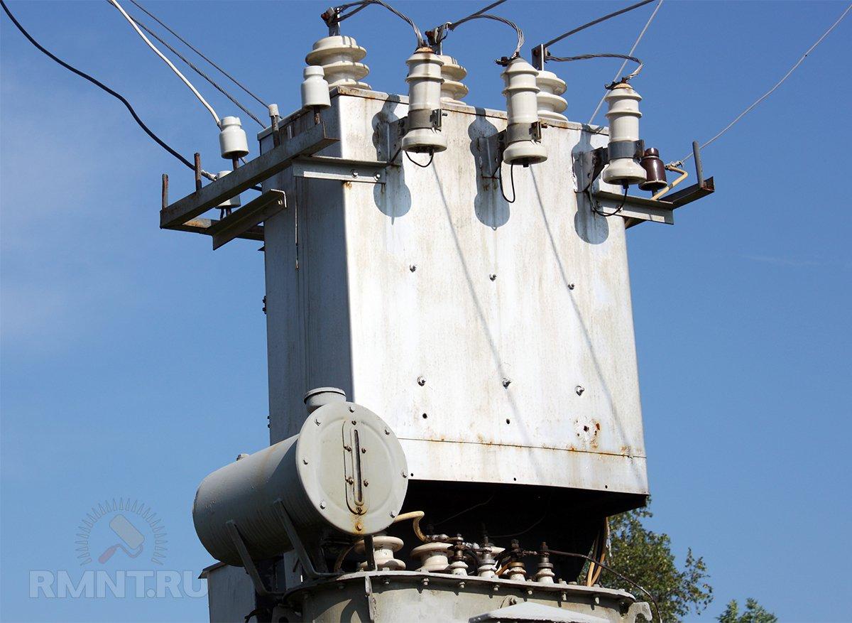 Трансформатор электрической подстанции