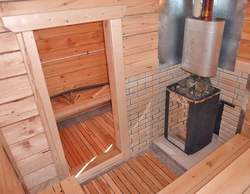 Огнеупорная плитка для печи и бани