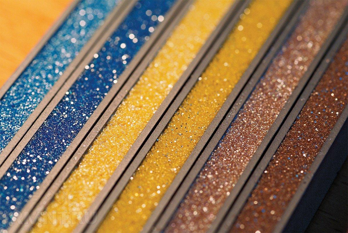 Цветовая палитра затирочных смесей