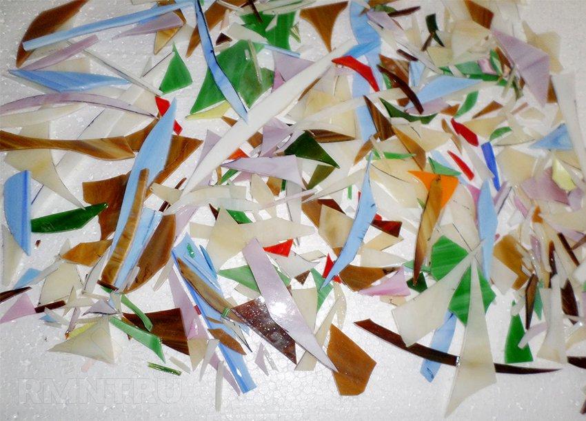 Бой художественного стекла