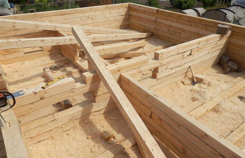 Одноэтажный дом из бруса: особенности планировки и постройки