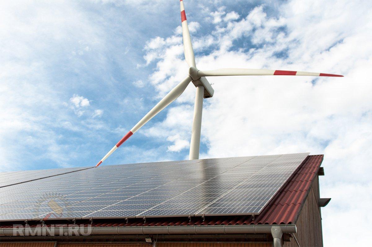 Автономное энергообеспечение загородного дома