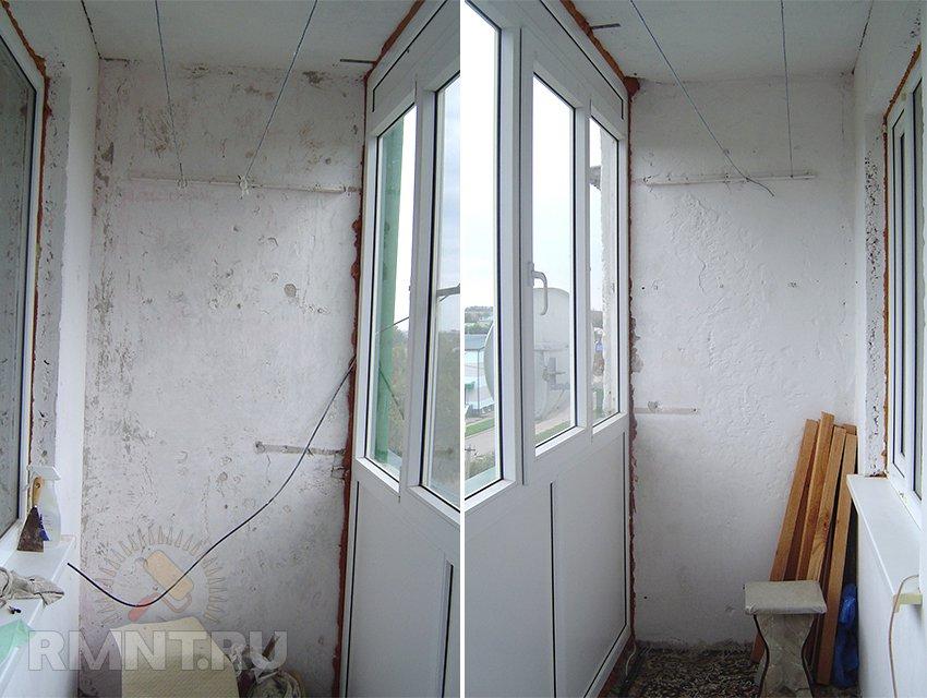 Мастер-класс: ремонт стен на лоджии - моршин инфо.