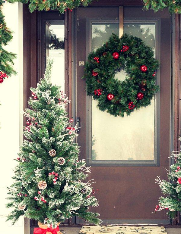 Как украсить дом к новому году: 20 фотоидей