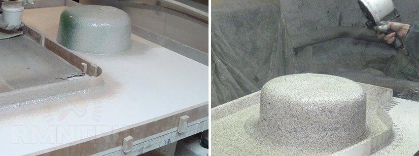 Как сделать столешницу из камня своими руками 524