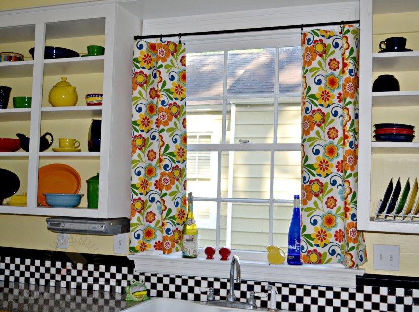 Шторы на кухню: 20 современных фотоидей