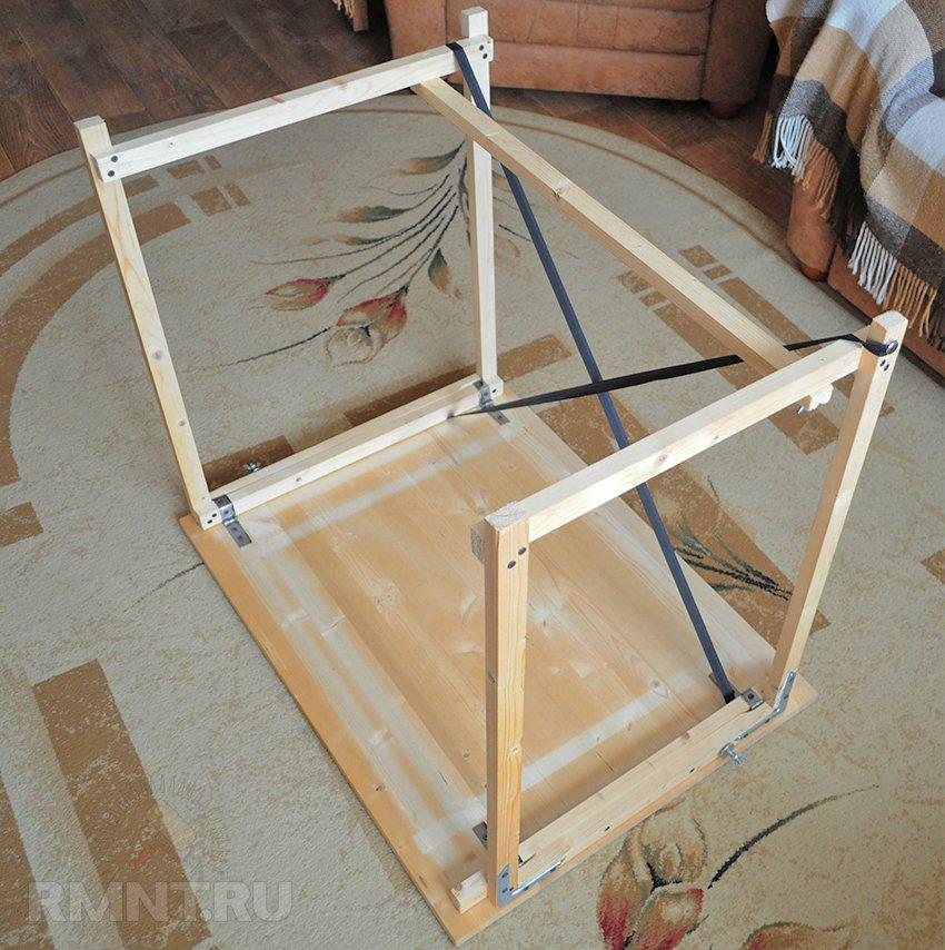 Как самому сделать деревянный стол своими руками