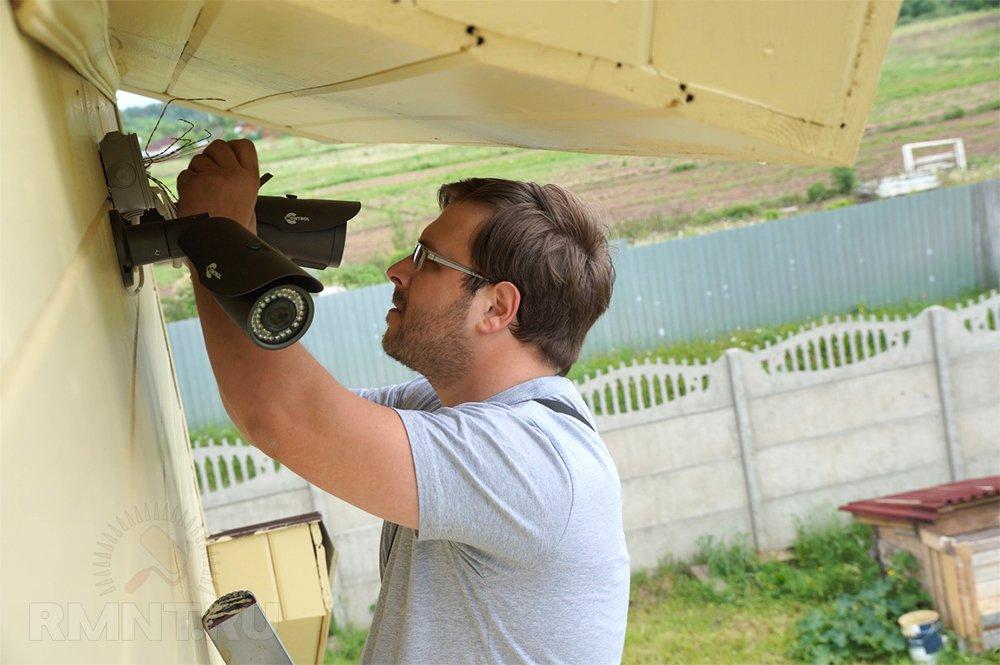 Организация видеонаблюдения на даче своими руками 64