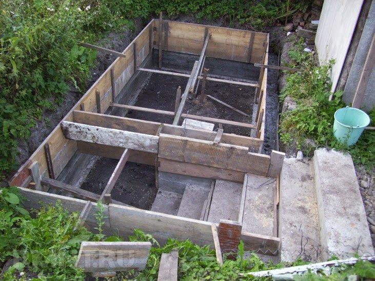Как сделать кессон из бетона для погреба