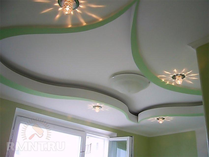 Как сделать красивые натяжные потолки фото 43