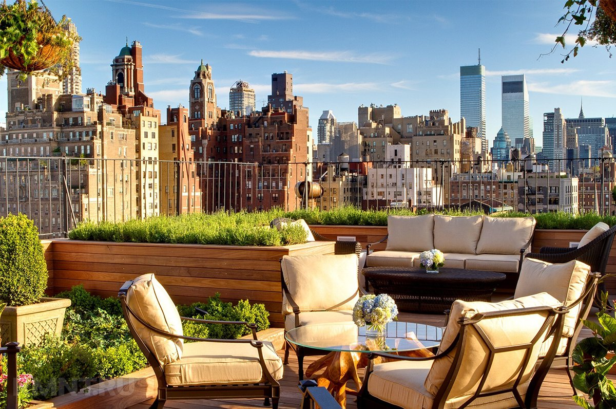 Сад на крыше — разновидности и обустройство своими руками