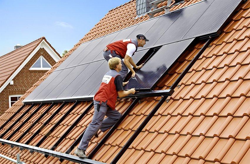 Монтаж солнечной системы. Схемы и способы подключения солнечных батарей: как правильно провести монтаж солнечной панели