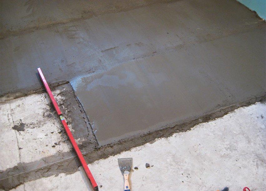 Песчано-цементная стяжка пола своими руками