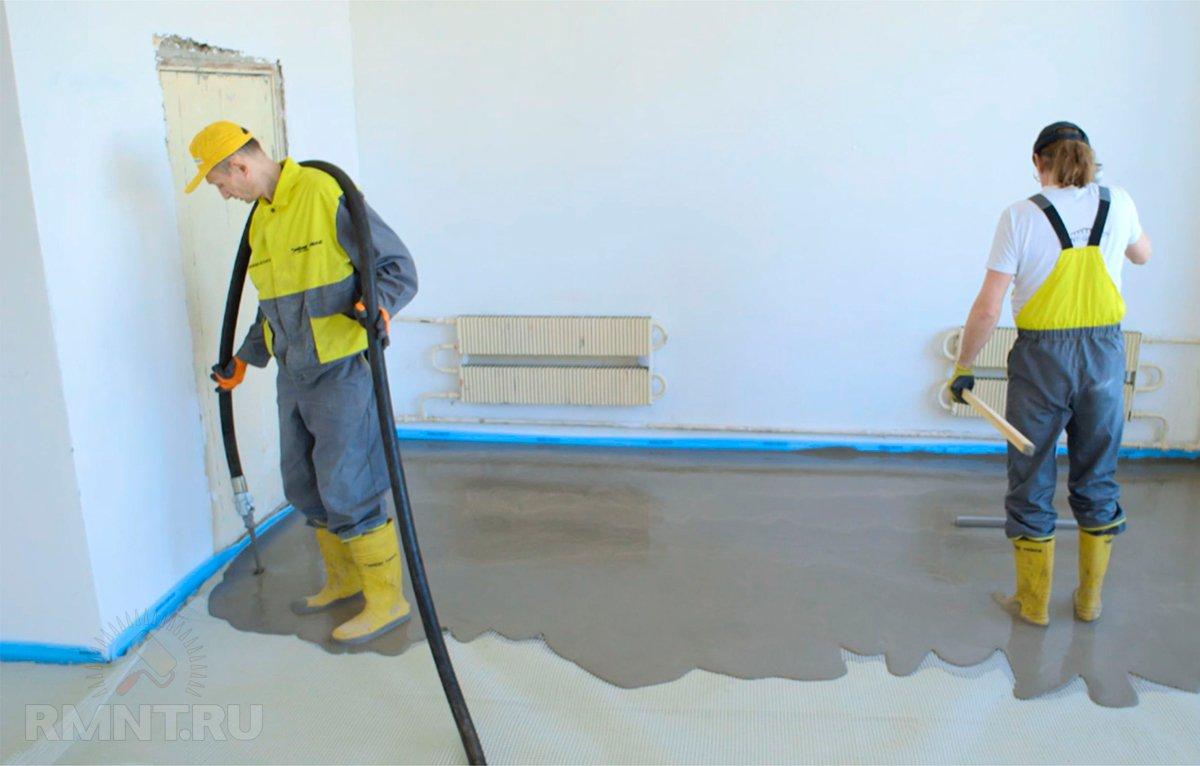 Наливной пол своими руками - пошаговая инструкция (59 фото): как правильно делать выравнивание смесью, технология заливки самовыравнивающейся поверхности