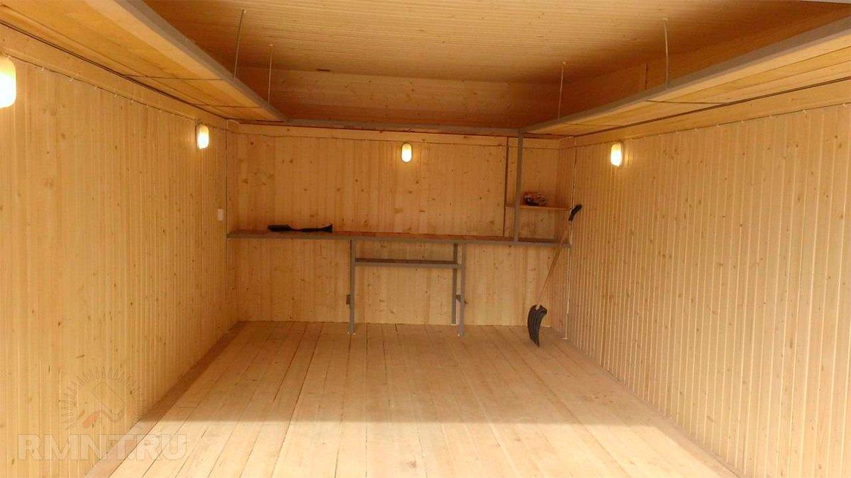Выбираем материал для отделки гаража внутри